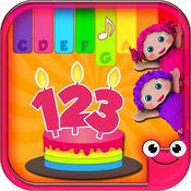 EduBirthday-讲授颜色、形状和数字的免费小游戏 2.99