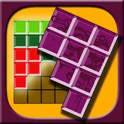 五颜六色的方块益智游戏 - 逻辑七巧板游戏与最佳匹配块的