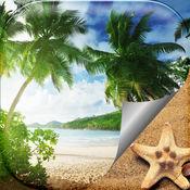 夏季海滩壁纸 – 美丽的热带岛屿和异国情调的天堂图片 1