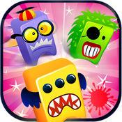 怪物疯狂大理石爆炸:免费糖果匹配的益智游戏 1
