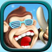 Banana Island - 一只顽皮又胆小的猴子在香蕉岛的冒险故事