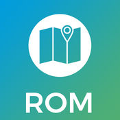 罗马市地图