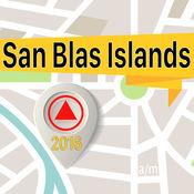 San Blas Islands 离线地图导航和指南 1