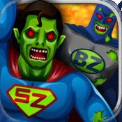 僵尸英雄跳比赛自由 (Zombie Superhero Jump Race for lib