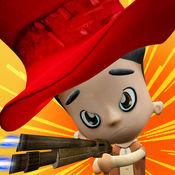 土匪孩子射手-3d有趣射击孩子们的游戏 1