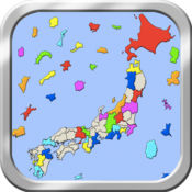 日本地图拼图 2.2.2