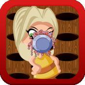 可爱的小妹妹 - 乐派中的人脸游戏 1