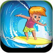 疯狂的水浪冲浪亲 - 手机游戏下载小游戏赛车小好玩的單車