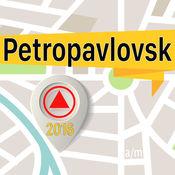 Petropavlovsk 离线地图导航和指南 1