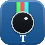InstaTxtr - 照片编辑器拥有超棒滤镜效果,裁剪,相框,漏光和图