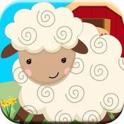 稗农场动物的叫声益智游戏为幼儿免费 1