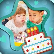 生日快樂相框 照片特效 & 照片編輯器 1.2