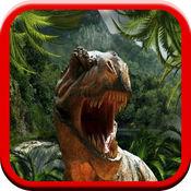 恐龙世界:有趣的游戏为孩子们益智的声音和配套的小恐龙猎人