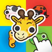 动物配对记忆:孩子的英语学习游戏 Animal Matching Memory