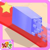 疯狂的几何方形 - 不可能立方体游戏 1