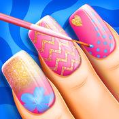 指甲彩绘 美容沙龙: 时尚修甲设计和装修理念 1
