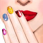 指甲彩绘设计 – 拥有时尚美容沙龙为女孩最好的修指甲 1