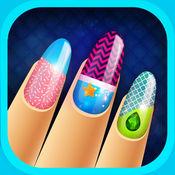 指甲女孩的游戏 - 漆钉子中美女沙龙 1
