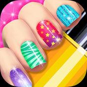 美甲沙龙游戏:美容化妆 - 指甲艺术温泉女孩 1