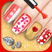 美甲沙龙化妆游戏 – 美容水疗中心为您提供优雅修指甲设计
