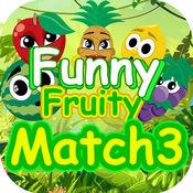 滑稽的水果比赛3场比赛 1