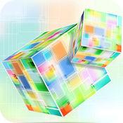 彩色方块填充—...