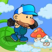 超级大叔蘑菇大冒险,经典蘑菇怀旧游戏 1