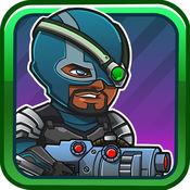 Villain Defense. 卫冕塔 超级英雄恶棍射击坏人 超级杀手游戏
