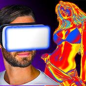 虚拟现实 - 热相机。 恶作剧 1