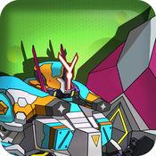 机甲战神 :终极武器-不死英雄 机器人组装拼装战斗益智小游