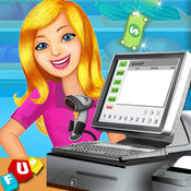 超市收银SIM-孩子教育的购物中心和时间管理游戏乐趣 1