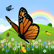 着色页:蝴蝶! - 着色页为幼儿 - 儿童游戏 - 应用程序的孩子