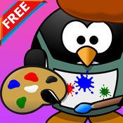 着色书:英语ABC幼儿园学习游戏着色页为孩子学步 1.0.1