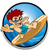 冲浪游戏 - 赶上波 2