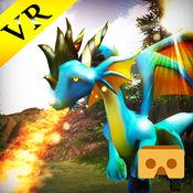 谷歌纸板的 Vr 龙飞行模拟器 1