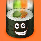 寿司落种族疯狂 - 趣味食品逃生挑战赛 1