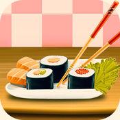 寿司糙米食谱初级 - 大厨烹饪时间,使寿司肠粉游戏 2