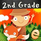动物数学二年级数学游戏的孩子数学 1.4