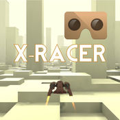 VR XRacer: 的 1 最好的虚拟现实航天 赛车游戏 3D VR Game
