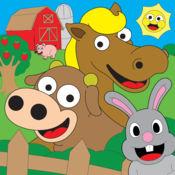 着色农场动物着色书儿童游戏 2.1