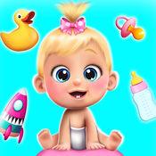 甜宝宝娃娃屋游戏: 有趣的游戏女孩 1