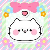 可爱Kitty猫 Weibo图片/QQ表情/微信表情/ON LINE贴图 by Yu