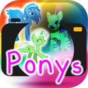 画上的照片ponys 1