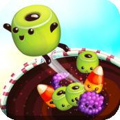Sweet Candy Trap Free - 重力下降逃生精简版街机游戏 -