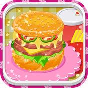 Go Burger Maker Deluxe - 汉堡机豪华版 - 快餐烹饪游戏 1