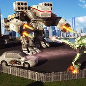 未来派机器人战斗真实的汽车战争模拟器 Ultimate Robot Fi