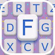 最好 字体 换 - 键盘 背景 1