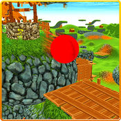 红色弹力球平衡3...