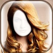 发型 对于 女人 - 虚拟 美容院 同 相框 对于 精彩 改造 照