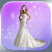 婚礼沙龙编辑 - 查找人脸的照片蒙太奇完美婚纱 1